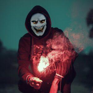 LED Party Face Mask - 1